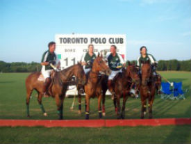 Andrew Rivkin at the Toronto Polo Club