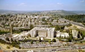 The Shaare Zedek Medical Center in Jerusalem